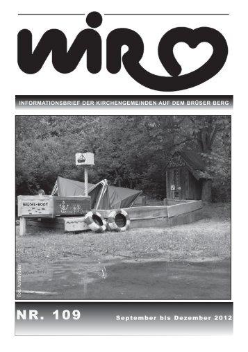 Gemeindebrief Wir 109 - Evangelischer Kirchenkreis Bonn
