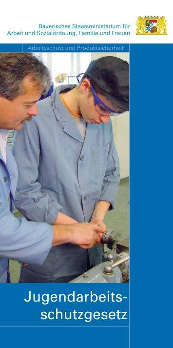 Jugendarbeits- schutzgesetz