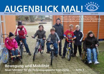 Augenblick Mal - Lebenshilfe Erlangen-Höchstadt