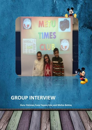 3 Group Interview