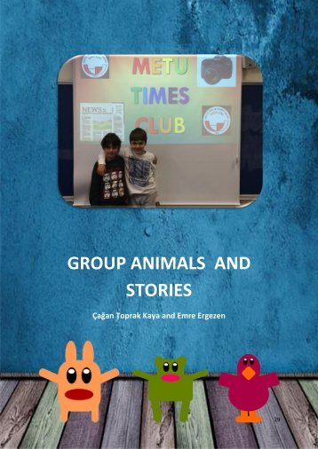 18 Group Animals and Stories