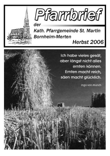 Herbst 2006 - Merten-Mooses