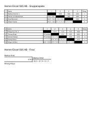 Herren-Einzel S35 AB - Adliswiler Badminton Club