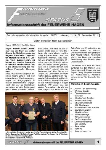 Erscheinungsweise: vierteljährlich Ausgabe: 04/2011 Jahrgang 11 ...