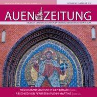 April/Mai 2012 - Auenkirche