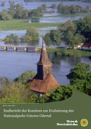 Endbericht des Komitees zur Evaluierung des NLP Unteres Odertal