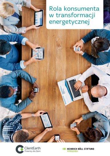 Rola konsumenta w transformacji energetycznej