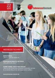 Jobmesse Rostock - Messezeitschrift Frühjahr 2017