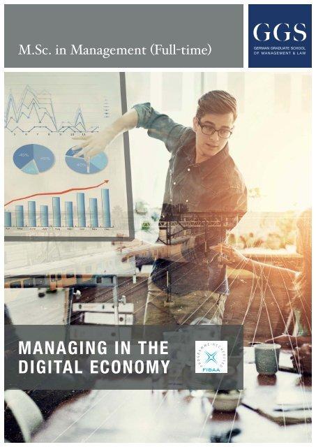 GGS-Broschüre M.Sc. in Management (Vollzeit)