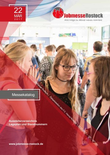 Messekatalog der Jobmesse Rostock im Frühjahr 2017