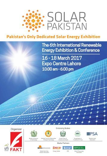 SOLAR PAKISTAN EXHIBITION 2017