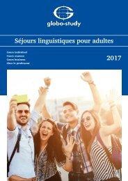 Globostudy Séjour linguistiques 2017
