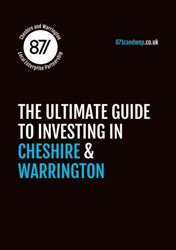 The Ultimate Guide to Investing in Cheshire & Warrington