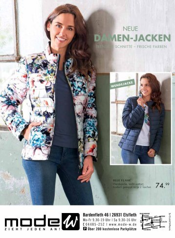 Damen-Jacken Prospekt