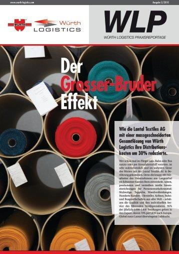 WLP Der Grosser-Bruder Effekt Wie die Lantal ... - Würth Logistics