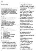 Severin KA 4481 Cafetière électrique »START« - Istruzioni d'uso - Page 4