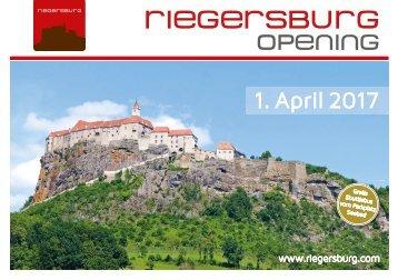 Programm Riegersburg Opening 2017