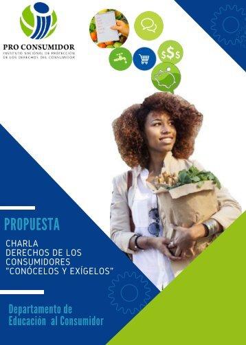 Propuesta Charla Derechos de los Consumidores.