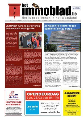 Het Immoblad van 14 maart 2017