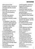 Severin WK 3384 Bouilloire électrique »START« - Istruzioni d'uso - Page 5