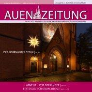ADveNt – zeit Der KiNDer | seite 5 festesseN für ... - Auenkirche