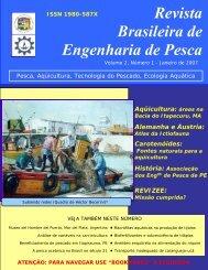 Revista Brasileira de Engenharia de Pesca