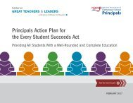 Principals Action Plan for the Every Student Succeeds Act