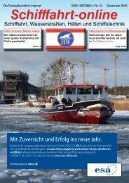 Dezember 2010 - Schifffahrt online
