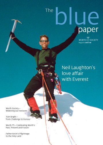 Neil Laughton's love affair with Everest - Worth School
