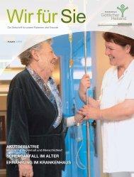 Wir für Sie Ausgabe 1/2011 - Krankenhaus Göttlicher Heiland