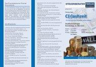 C(r)ashzeit - Steuerberater Forum Zollernalb