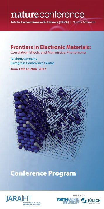 Frontiers in Electronic Materials - EMRL
