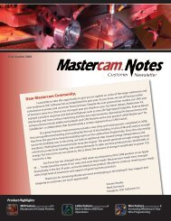 other news - Mastercam