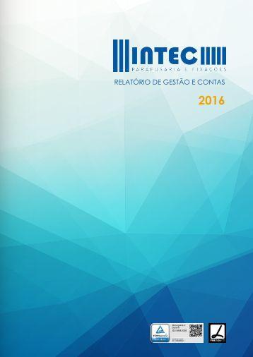Intec, SA - Relatório de Gestão e Contas 2016
