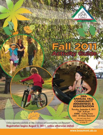 Fall 2011 Activity Guide FINAL_email.pdf - Town of Beaumont