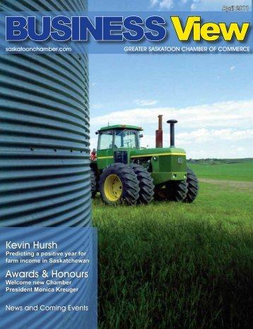 Kevin Hursh Awards & Honours - Saskatoon Chamber of Commerce
