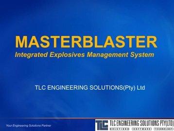 MASTERBLASTER - TLC Engineering Solutions
