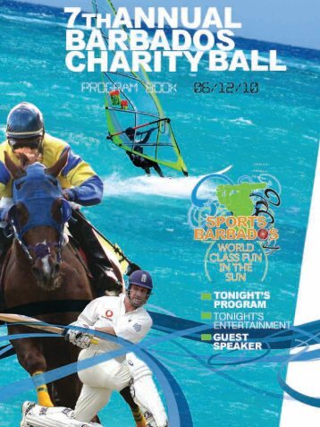 MESSAGE FROM - Barbados Ball Canada Aid