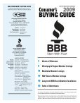 Keep this guide with your phonebook - The Better Business Bureau - Page 3