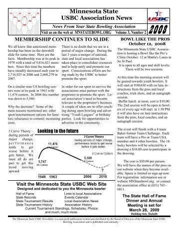 Minnesota State USBC Association News - state pins