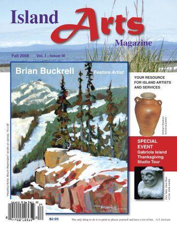 BrianBuckrell - Island Arts Magazine