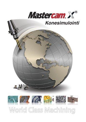 Konesimulointi - Mastercam focus sarjat - Mastercam.fi