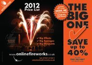 download our Discount Fireworks price list - Online Fireworks