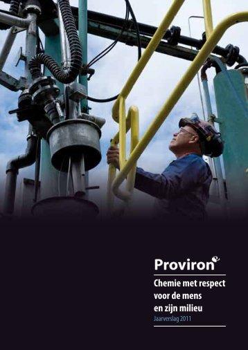 Annual Report 2011 (Nederlands - pdf 1,8 MB - Proviron
