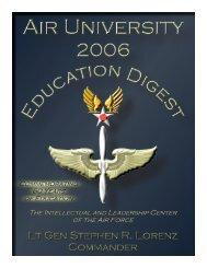2006 (pdf format) - The Air University
