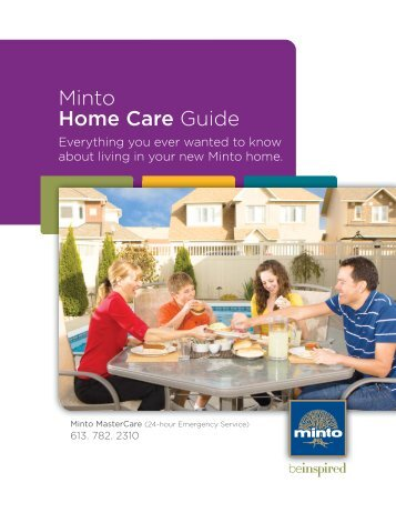 Download the Minto Home Care Guide - Freehold