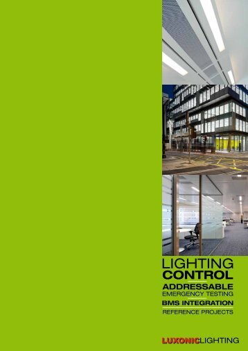 pdf brochure - Luxonic Lighting
