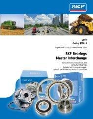 SKF Bearings Master Interchange - Acorn Bearings
