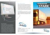 Gemeinsam stark - KoLoS-Netzwerk
