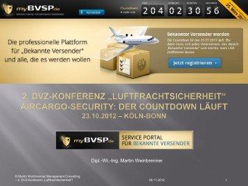 Dipl.-Wi.-Ing. Martin Weinbrenner - myBVSP.de